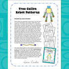 FREE Gallon Robot Patterns