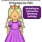 FREE Go Princess Equivalent Fractions Go Fish Card Game