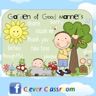 FREE Good Manners Garden - behavior management poster - 2 pages