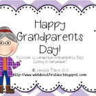 {FREE} Grandparents Day! {Grandparent's Day Activities!}
