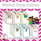 FREE Grouping Students Charts