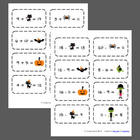 FREE Halloween Addition/Subtraction Flashcards