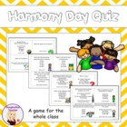 FREE Harmony Day Quiz Cards