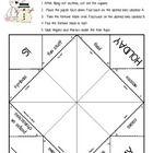 FREE Holiday Game - Fortune Teller - Learn About Different
