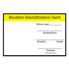 FREE Homeschool Student Identification Card