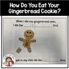 FREE How Do You Eat Your Gingerbread Man? Graph and Data C