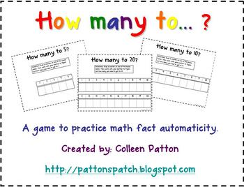 FREE How Many to 10 Math Game