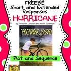 FREE &quot;Hurricane&quot; Plot Sequence Short/Extended Response Test Prep