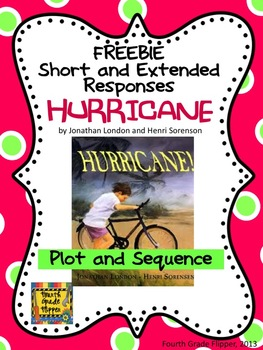 "FREE ""Hurricane"" Plot Sequence Short/Extended Response Test Prep"