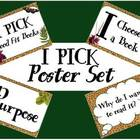 FREE &quot;I Pick&quot; Poster Set