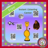 FREE Instant Listening Center - QR Code - Daily 5 Listen t