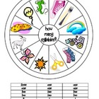 FREE Kinder How Many Syllables Wheel & Clothespin Activity