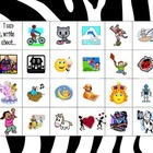 FREE Kindergarten I Can Write About Menu for Work on Writing