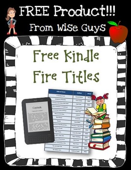 FREE Kindle Fire Books to Download for Your Classroom and