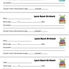 FREE Literary Lunch Bunch Bookmarks