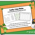 FREE Lucky Line Plots (Graphing-Analyzing Data)