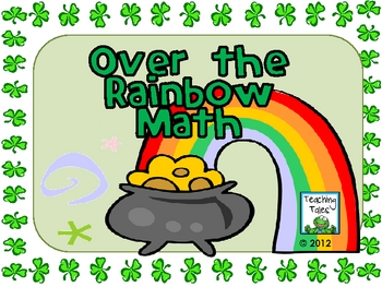 {FREE} March Activity:  Over the Rainbow Math