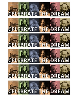 FREE Martin Luther King Bookmarks