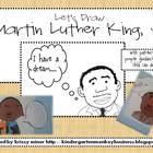 FREE Martin Luther King Directed Drawing