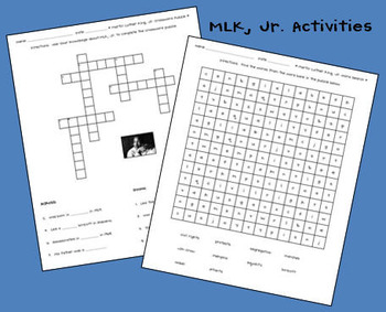 FREE Martin Luther King, Jr. Activities