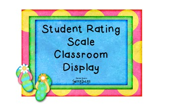 FREE Marzano Student Rating Scale