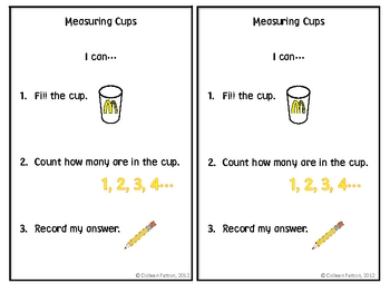 FREE Measuring Volume with McDonalds Cups