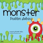 FREE Monster Problem Solving Math Center