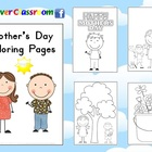 FREE Mother's Day Coloring Pages - 10 pages