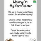 FREE &quot;Moving On: My Next Chapter&quot; End of the Year Activity