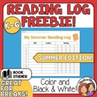 FREE: My Summer Reading Log