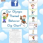FREE - Olympic Themed Behavior Clip Chart Posters - 20 pages