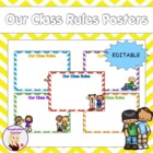 FREE Our Class Rules Poster