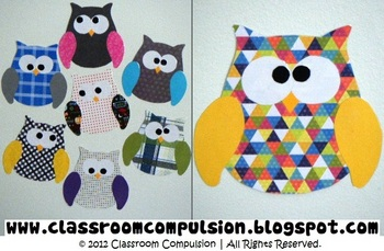 FREE Owl Template by Classroom Compulsion