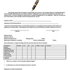 FREE Parent Reference form for Student Classroom Jobs