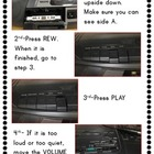 {FREE} Pictorial Tape Player Instructions