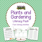 FREE Plants and Gardening Literacy Sampler Pack - Four Cen