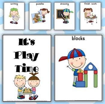 FREE Play Time Posters - 25 pages