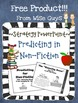 FREE Predicting for Non-Fiction Text Reading Strategy PowerPoint