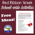 FREE Red Ribbon Week Activities For Your School