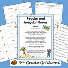 FREE Regular-Irregular Nouns (Sing/Plural Activities)