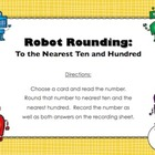FREE Robot Rounding (Countdown to Christmas - Day 6)