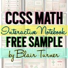 {FREE SAMPLE!} Interactive Notebooks for 1st-5th Grade Math