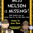 FREE Sample: Miss Nelson Is Missing Activity Unit For The