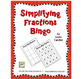 FREE Simplifying Fractions Bingo