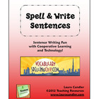 FREE Spell &amp; Write Sentences