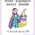 FREE Story Elements Vocabulary Magic Square
