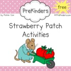 FREE Strawberry Patch Activities &amp; Printables