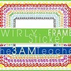 FREE Swirly Sticker Styled Frames