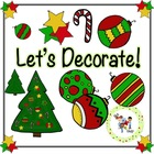 FREE! TLC Clip Art - Let's Decorate!