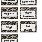 FREE Teacher's Toolkit Animal Print Labels